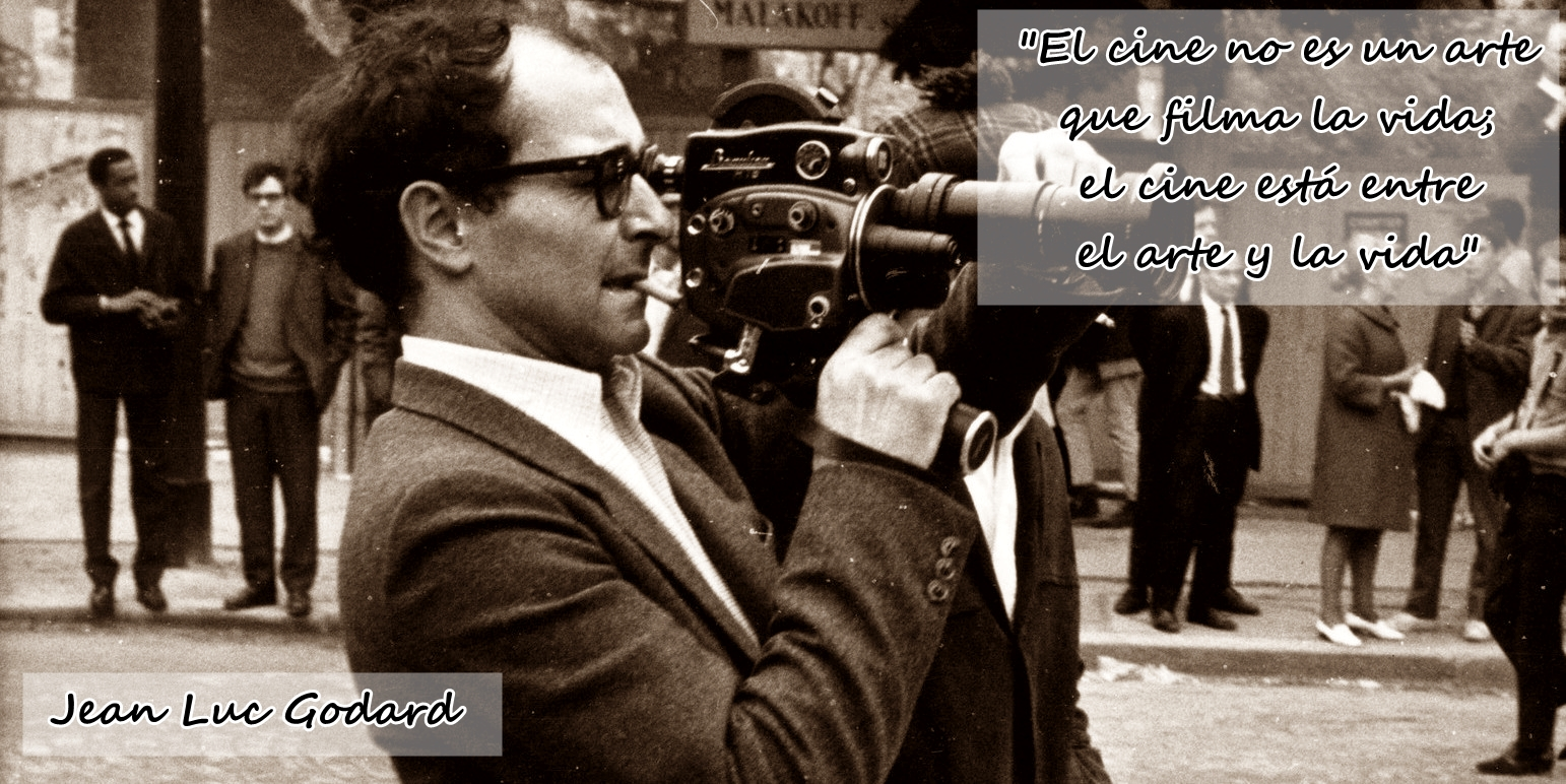 Film Director, Critic Jean-Luc Godard 1930 -